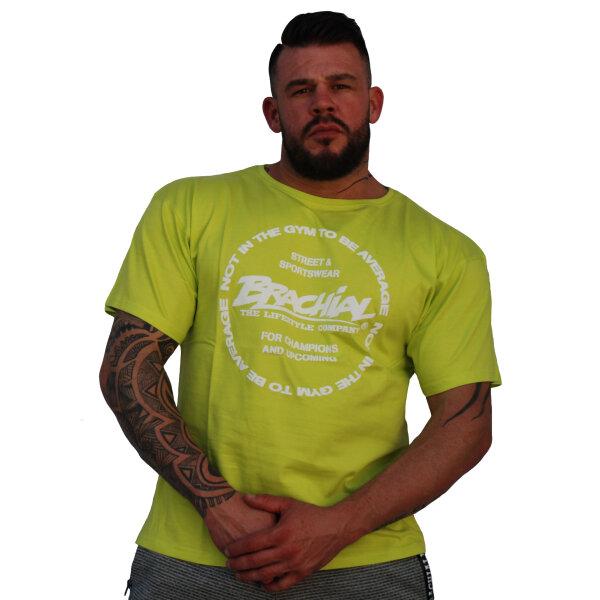 "Brachial T-Shirt ""Style"" green S"