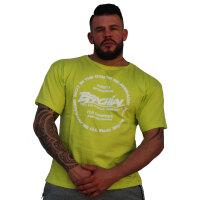 """Brachial T-Shirt """"Style"""" green XL"""