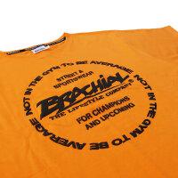 "Brachial T-Shirt ""Style"" orange S"