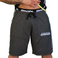 "Brachial Short ""Spacy"" graumeliert/weiss XL"
