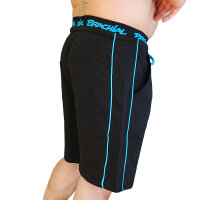 "Brachial Short ""Spacy"" schwarz/blau"