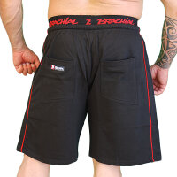 "Brachial Short ""Spacy"" black/red"