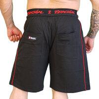 """Brachial Short """"Spacy"""" schwarz/rot XL"""