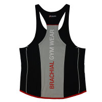 "Brachial Tank-Top ""Fresh"" black/grey 4XL"