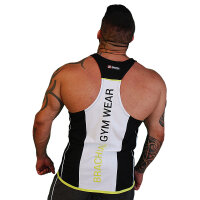 "Brachial Tank-Top ""Fresh"" black/white"