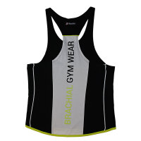 "Brachial Tank-Top ""Fresh"" black/white L"