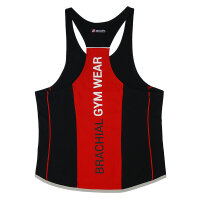"Brachial Tank-Top ""Fresh"" black/red"
