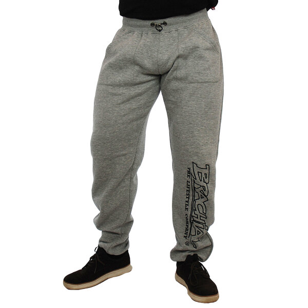 Brachial Tracksuit Trousers Gain greymelounge