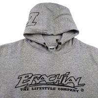 """Brachial Hoody """"Gain"""" greymelounge L"""