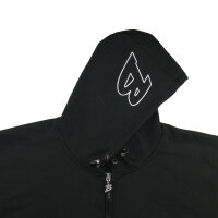 "Brachial Zip-Hoody ""Gain"" schwarz XL"