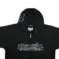 "Brachial Zip-Hoody ""Gain"" schwarz 3XL"