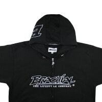 "Brachial Zip-Hoody ""Gain"" schwarz 4XL"