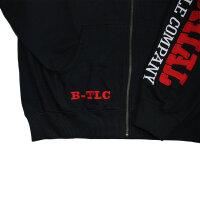 "Brachial Zip-Hoody ""Gym"" black/red L"