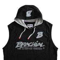 """Brachial Tank-Top """"Boxer"""" schwarz/grau M"""