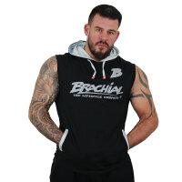 """Brachial Tank-Top """"Boxer"""" black/grey L"""