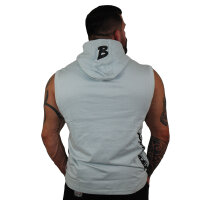 "Brachial Tank-Top ""Boxer"" light grey/black"