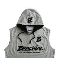 """Brachial Tank-Top """"Boxer"""" light grey/black M"""