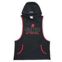 "Brachial Tank-Top ""United"" black/red S"