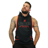 "Brachial Tank-Top ""United"" schwarz/rot XL"