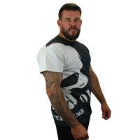 "Brachial T-Shirt ""Hide"" schwarz M"