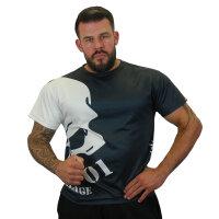 "Brachial T-Shirt ""Hide"" schwarz 3XL"