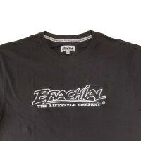 "Brachial T-Shirt ""Gain"" schwarz/weiss"