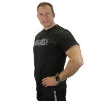 "Brachial T-Shirt ""Gain"" schwarz/weiss 4XL"