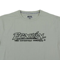 "Brachial T-Shirt ""Gain"" light grey/black L"