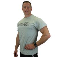 "Brachial T-Shirt ""Gain"" light grey/black 3XL"