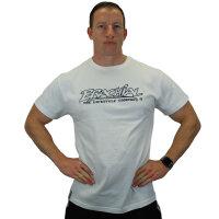 "Brachial T-Shirt ""Gain"" weiss/schwarz S"