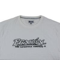 "Brachial T-Shirt ""Gain"" white/black 3XL"