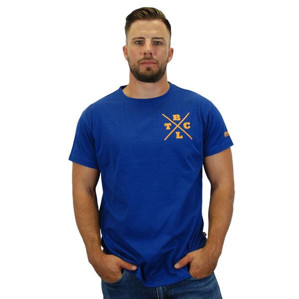 """Brachial T-Shirt """"Beach"""" dunkelblau"""