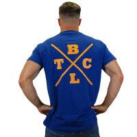 """Brachial T-Shirt """"Beach"""" dunkelblau S"""