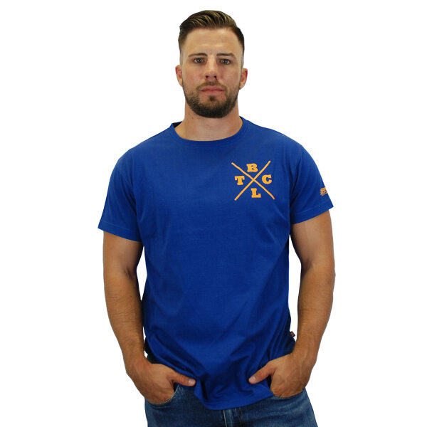 """Brachial T-Shirt """"Beach"""" dunkelblau L"""