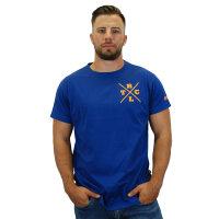 """Brachial T-Shirt """"Beach"""" navy 4XL"""
