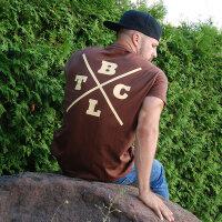 """Brachial T-Shirt """"Beach"""" brown"""