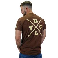 "Brachial T-Shirt ""Beach"" braun S"
