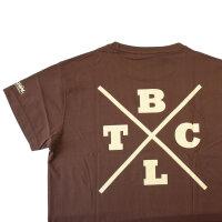 """Brachial T-Shirt """"Beach"""" braun L"""