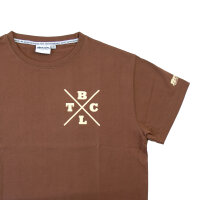"Brachial T-Shirt ""Beach"" brown XL"