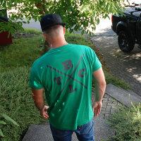 """Brachial T-Shirt """"Beach"""" dunkelgrün S"""