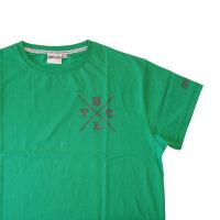 "Brachial T-Shirt ""Beach"" dark green M"
