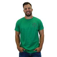 "Brachial T-Shirt ""Beach"" dark green L"