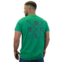 "Brachial T-Shirt ""Beach"" dark green XL"