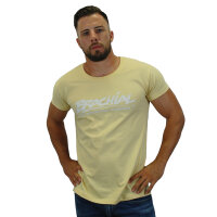 Brachial Camisetas Sign marfil/blanco