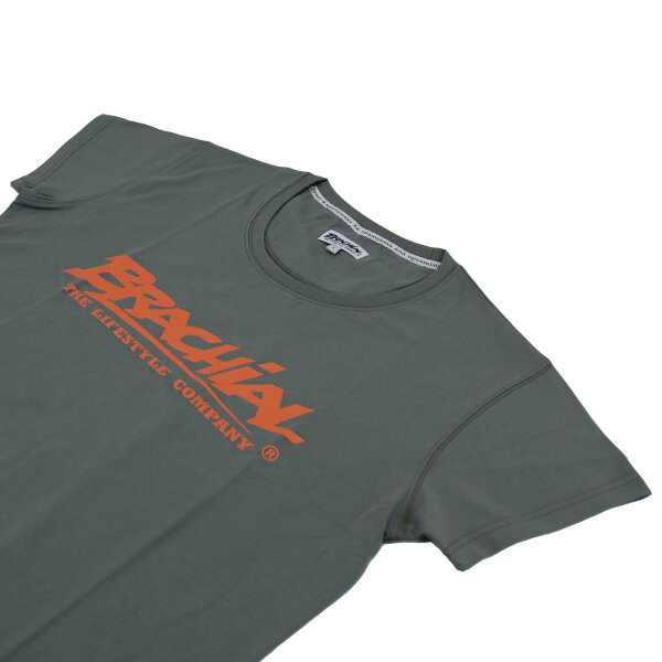 Brachial T-Shirt Sign dunkelgrau/orange
