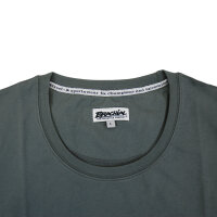 "Brachial T-Shirt ""Sign"" dunkelgrau/orange M"