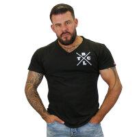 """Brachial T-Shirt """"Move"""" schwarz/weiss S"""