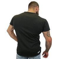 """Brachial T-Shirt """"Move"""" schwarz/weiss L"""