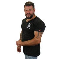 """Brachial T-Shirt """"Move"""" schwarz/weiss 4XL"""
