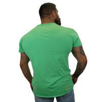 """Brachial T-Shirt """"Move"""" mintgrün/orange M"""